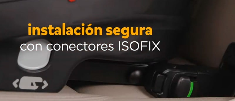 joie spin 360 con isofix